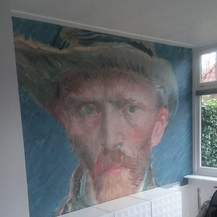 Fotobehang Van Gogh
